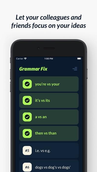 Grammar Fixのおすすめ画像1