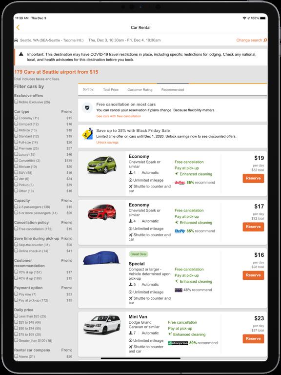 CarRentals - CarRentals.com screenshot