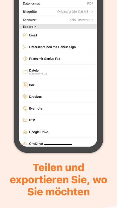 Genius Scan - PDF ScannerScreenshot von 4