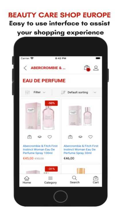 Beauty Care Shop Europe screenshot-4
