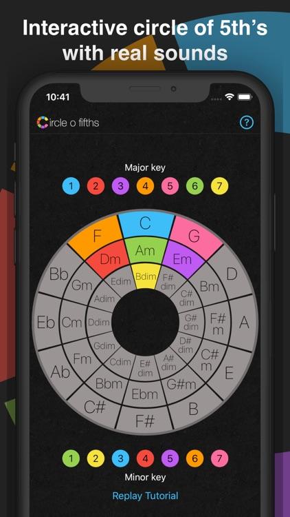 Circle o Fifths: Music Theory screenshot-0