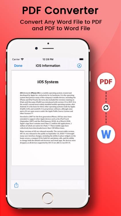 PDF Maker from Photo Word XLS screenshot-5