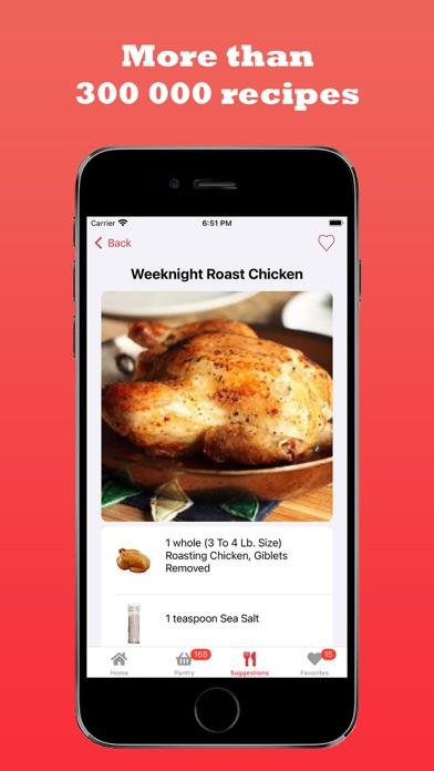 Foodcombos Screenshot