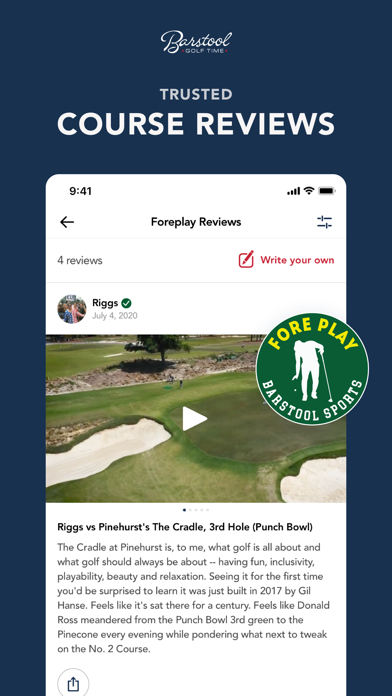 Screen Shot Barstool Golf Time 4