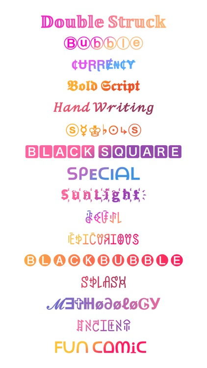 Fonts Keyboard - Stylish Fonts screenshot-0