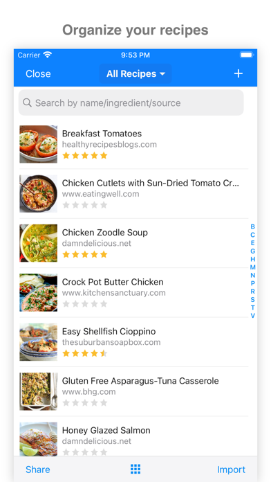 MealBoard - Meal Planner Screenshot