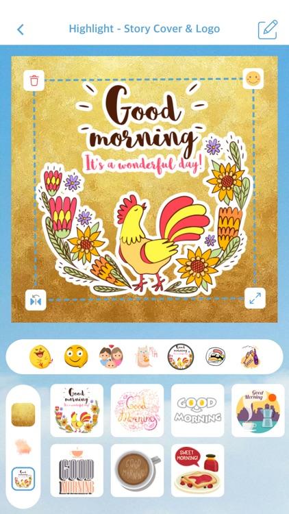 Highlight - Story Cover & Logo screenshot-4
