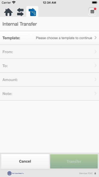 The Union Bank Business Mobile screenshot-5