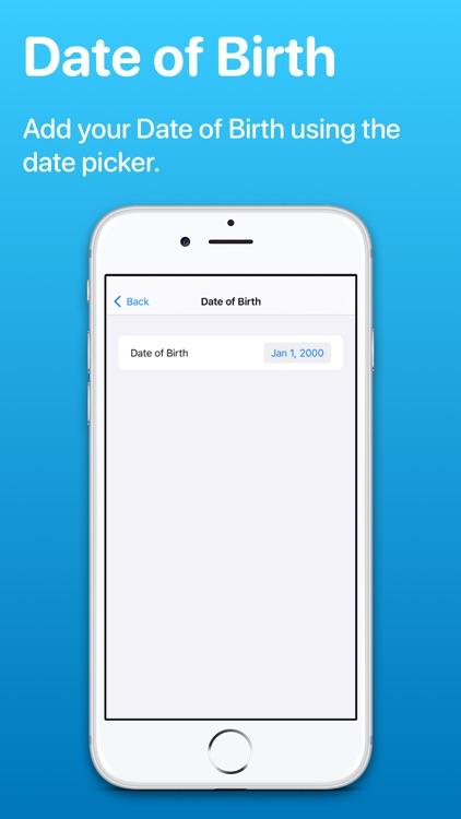 MediWear: Medical ID for Watch screenshot-6