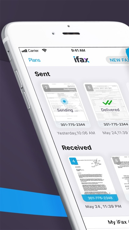 iFax: Fax from iPhone ad free screenshot-6