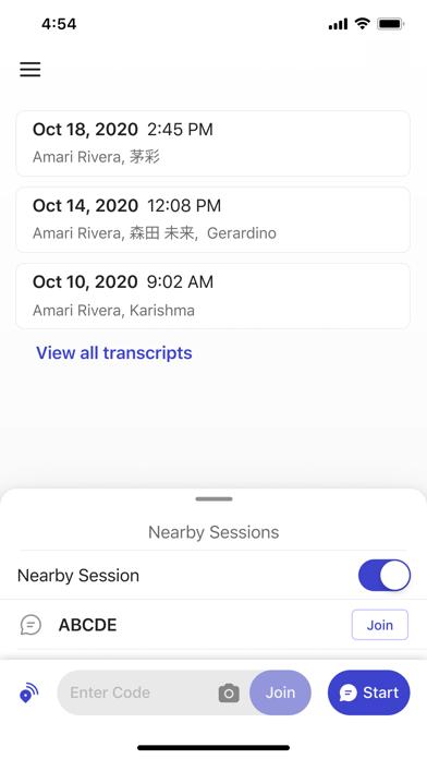 Group Transcribe screenshot 3