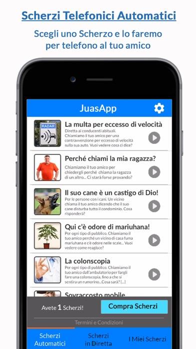 Screenshot of JuasApp - Scherzi1