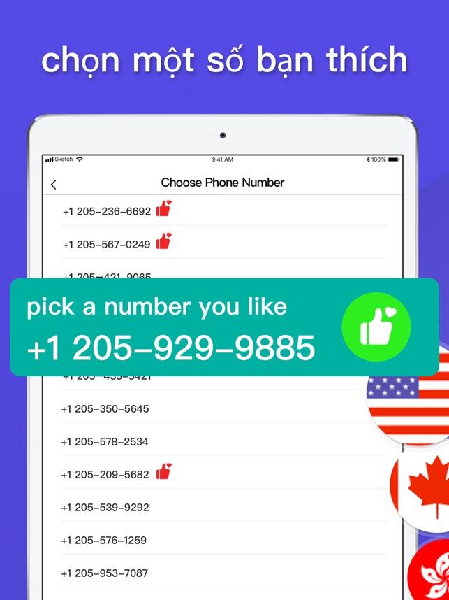 Số điện thoại thứ: IM Calling