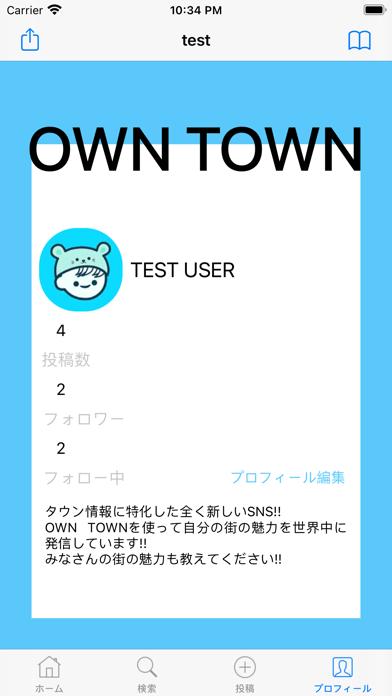 OWN TOWN screenshot 1
