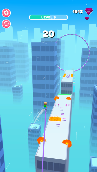 Roof Jumper 3D screenshot 10