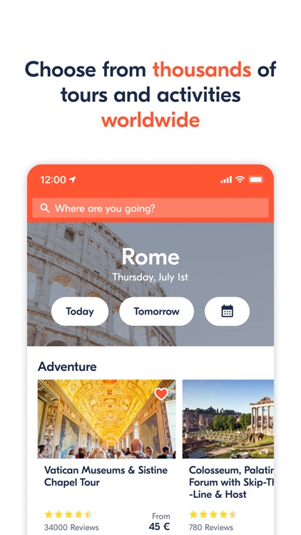 GetYourGuide: Tours & Tickets