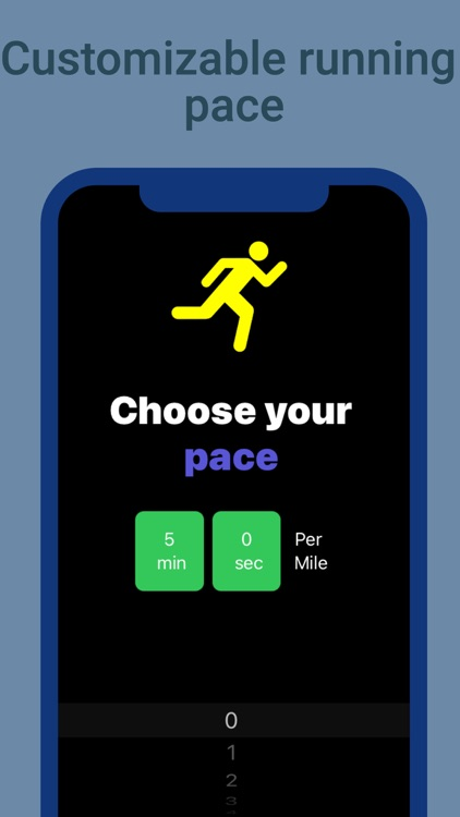 PaceRunner: Run at your pace screenshot-0