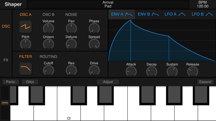 Shaper - Synthesizer screenshot-8