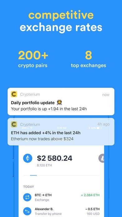 Crypterium | Bitcoin WalletСкриншоты 6