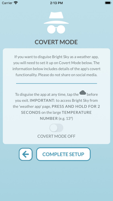 messages.download Bright Sky software