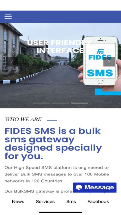 Fides Media Screenshot