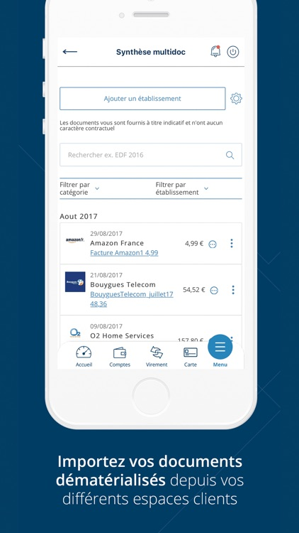 Banque Laydernier pour iPhone screenshot-6