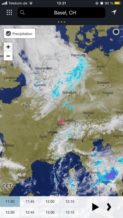 meteoblue weather & maps screenshot-5