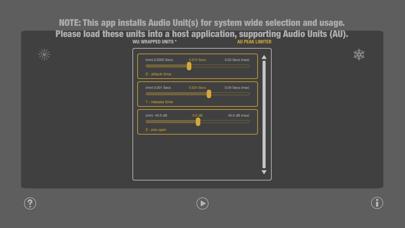 WU: AUPeakLimiter screenshot 3
