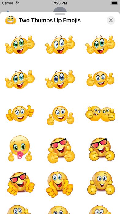 Two Thumbs Up Emojis screenshot 1