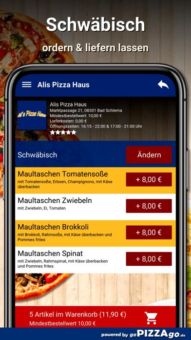 Alis Pizza Haus Bad Schlema screenshot 5