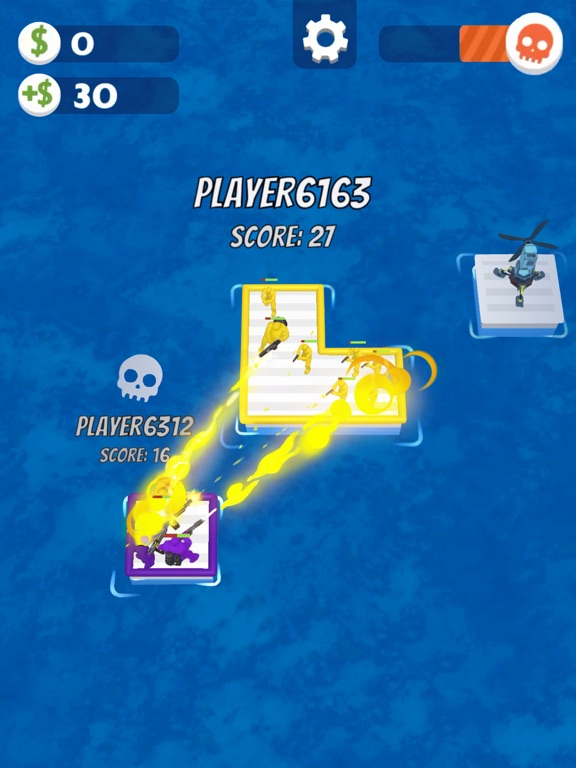 iPad Image of War of Rafts: Naval Battle