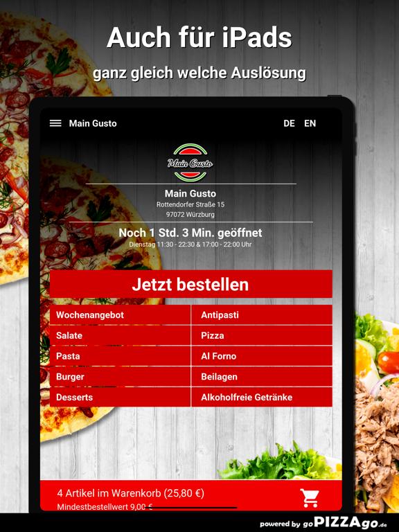 Main Gusto Würzburg screenshot 7