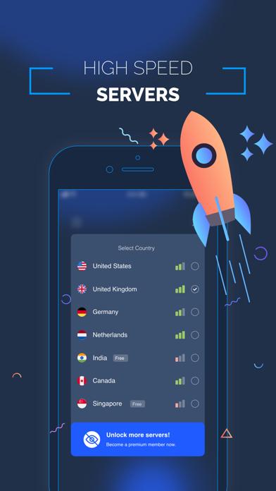 FasterVPN - High Speed VPN Screenshot
