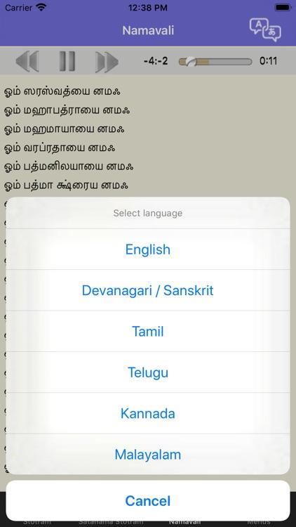 Saraswati Stotram screenshot-3