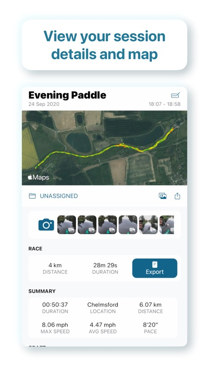 Paddle Logger for Watersports screenshot-6