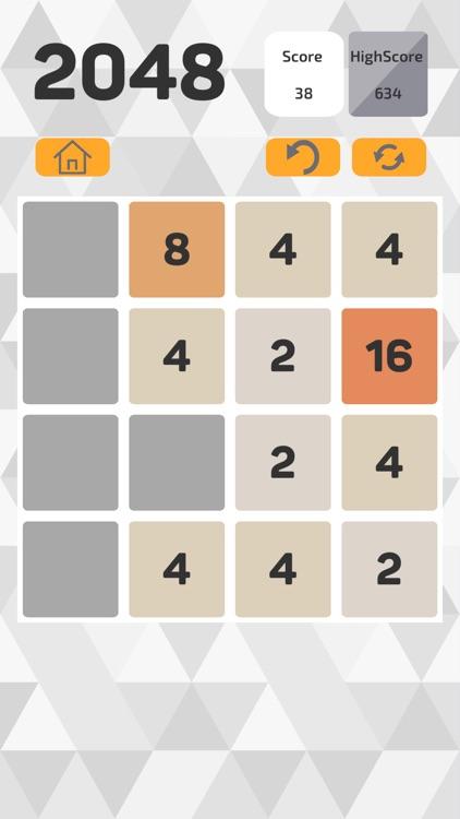 2048 Puzzle Tile