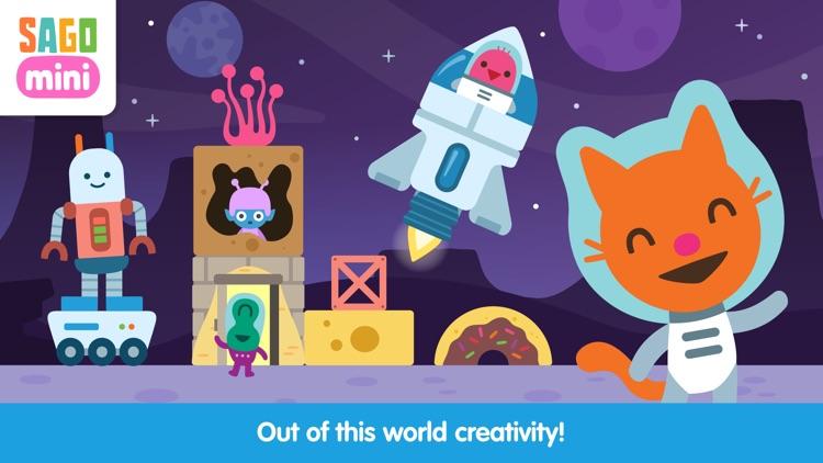 Sago Mini Space Blocks Builder screenshot-3