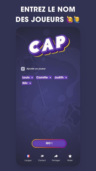 CAP jeu de soirée