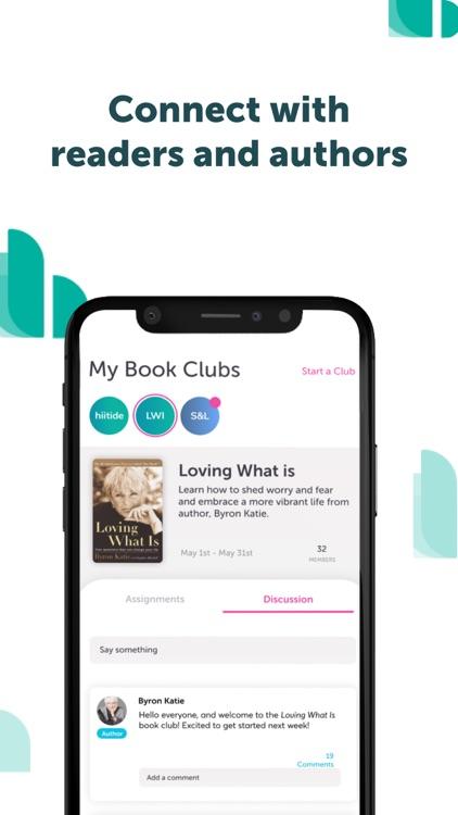 hiitide: Virtual Book Clubs