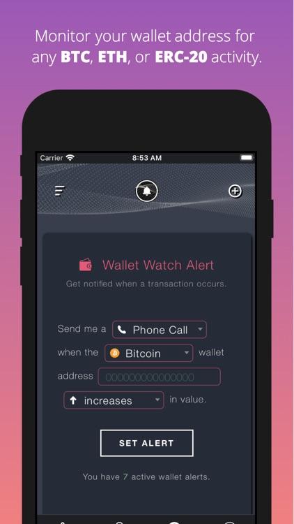 Cryptocurrency Alerting screenshot-4