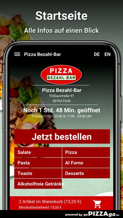 Pizza Bezahl-Bar Fürth screenshot 2