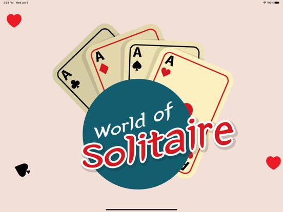Ipad Screen Shot World of Solitaire 0