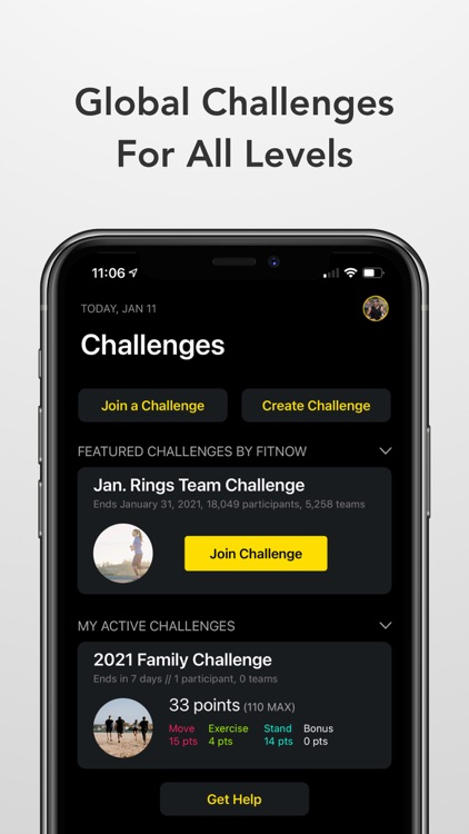 Challenges - Compete, Get Fit