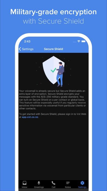 Vxt - Smart Voicemail App screenshot-5