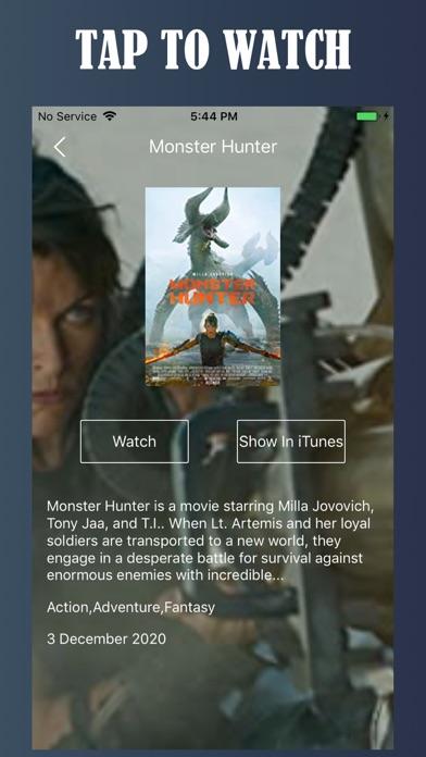 Screen Shot Tuner Radio Movies Player 1