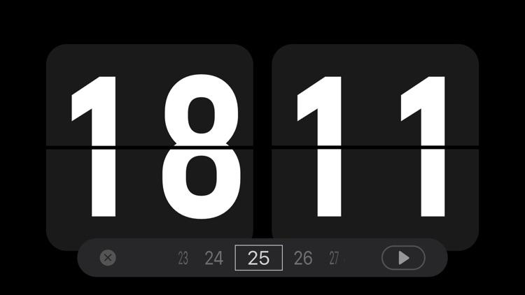 Nightstand clock & Flip clock screenshot-3