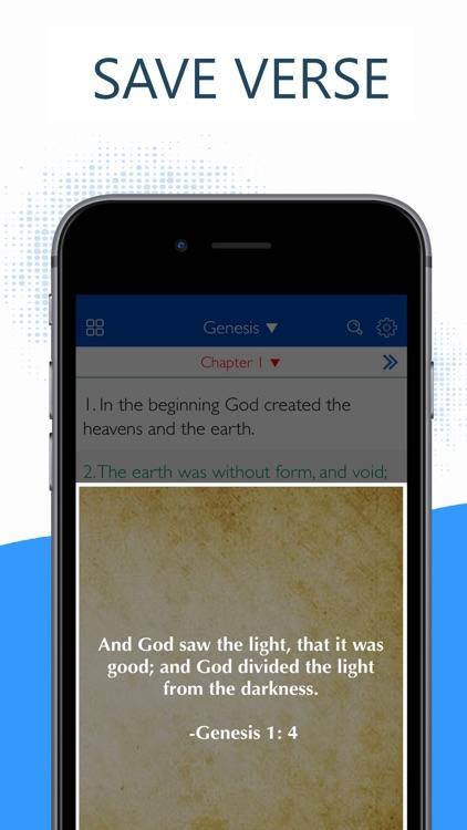 Holy Bible - KJV,NLT,NIV,ESV screenshot-3