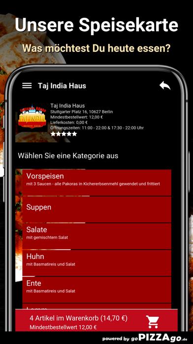 Taj India Haus Berlin screenshot 4