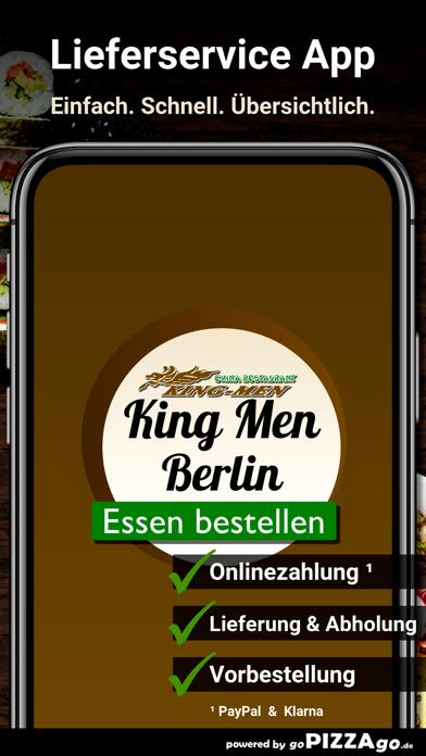Restaurant King Men Berlin screenshot 1