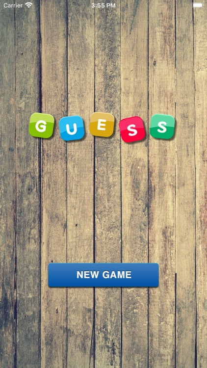 Guess a Word Game